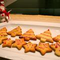 プチプレゼントのクリスマスツリークッキー by shoko♪さん
