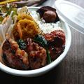 魚焼きグリルで簡単はやうま〜豚こまのハニーマヨめんつゆ生姜焼き(作りおき常備菜)〜