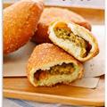 ホットケーキミックスで簡単20分♪ヘルシー揚げない豆腐カレーパン卵なし お菓子パン&カントリーソフトクッキー話題入り等お礼