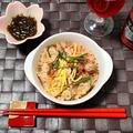 ☆帆立と鮭の山菜ごはん☆