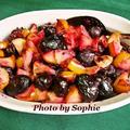 クランベリーと葡萄と林檎のローストソースのレシピ