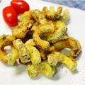 夏におすすめ。ゴーヤの唐揚げ!カレー粉風味のレシピ