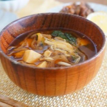 【モニター】冷凍野菜と乾物でつくる、かぼちゃと切干大根と豆腐の具沢山おかず味噌汁