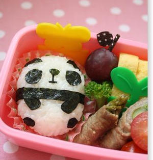 【作り方・コツ】年少さん向け・全身パンダちゃんのお弁当