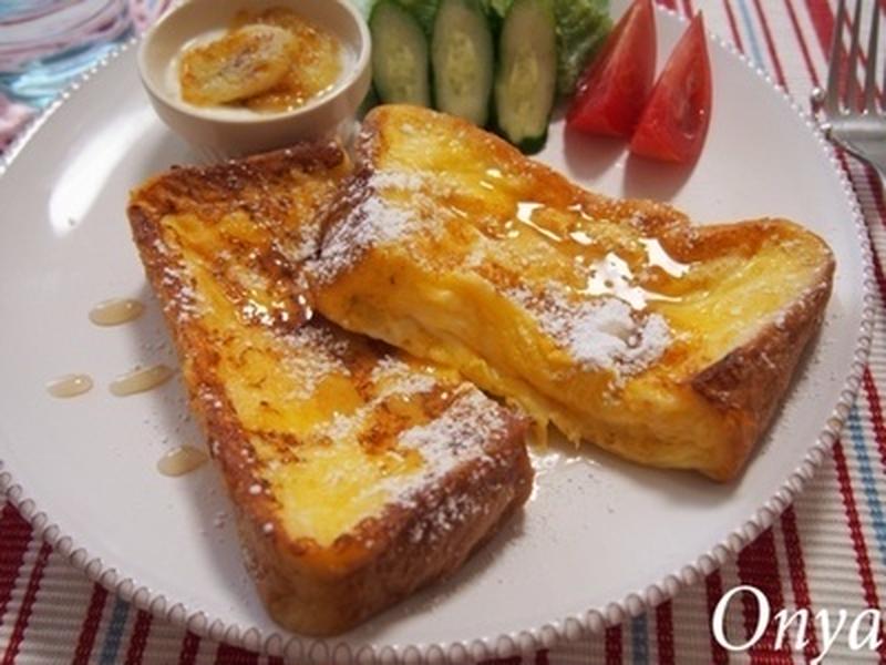 至福のふわふわ食感!おうちの「フレンチトースト」をより美味しくするコツまとめ