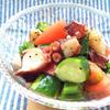 蛸と夏野菜のハニーペッパーバルサミコサラダ