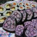 花巻き寿司に挑戦してみました~♪