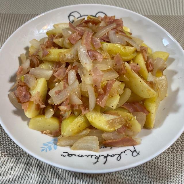 豚肉と白菜のミルフィーユ煮♪ ジャーマンポテト♪