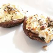 椎茸のオーブントースター焼き