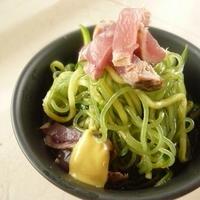 ★春きゅうりの蒟蒻麺(レシピブログモニター)