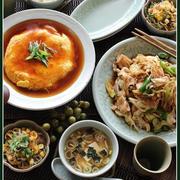 回鍋肉と、蟹(カマ)玉!で、お家中華♪