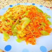 """甘い味付けの"""" タイ風スイートチリ味の野菜ビーフン """""""