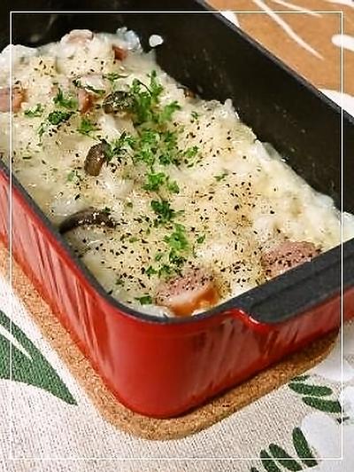 オーブントースターで簡単調理。