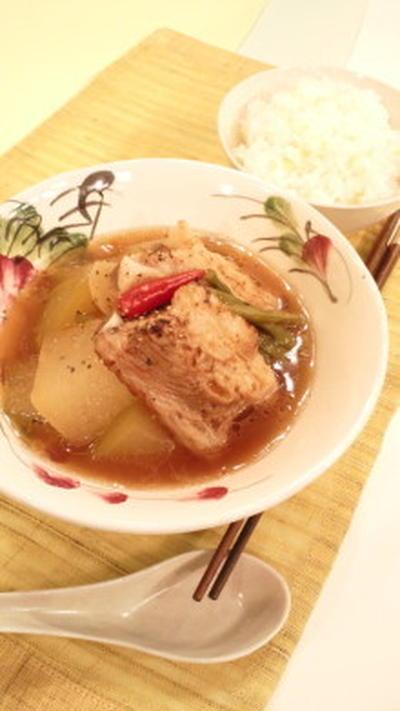 7月8日のもてなしゴハンは、スペアリブと冬瓜のおかずスープ&爽やかごはん