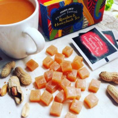 秋の恵みピーナッツの琥珀糖~野球観戦やおつまみにも♪