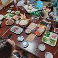 手巻き寿司パーティとサプライズ