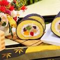 クックパッドニュース&レシピブログくらしのアンテナに掲載頂きました♪簡単お菓子♡節分に恵方巻きロールケーキ