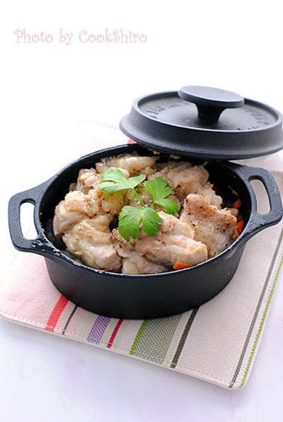 お野菜と鶏肉のじんわりグリル