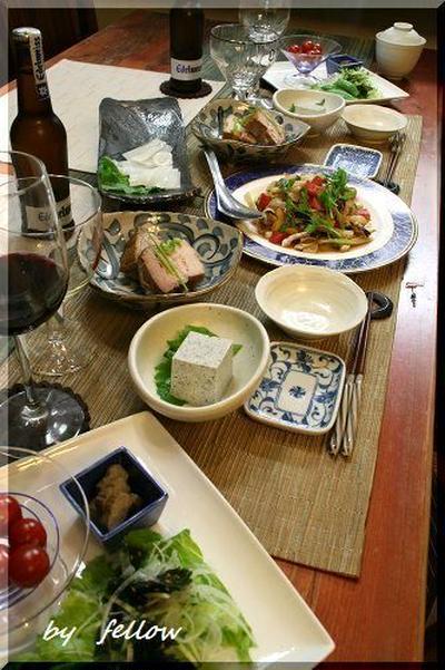 ◆お惣菜を並べて飲み飲みモード~翌日はしっかりヘルシー♪