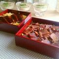 鰻の蒲焼き風高野豆腐の晩ごはん。