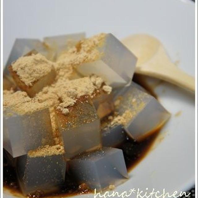 寒天のレシピとコツ。シンプルな黒蜜と一緒に。