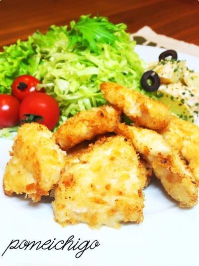 【胸肉なのに柔らかしっとり】鶏胸肉deチキンカツ(≧m≦)