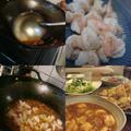 辛い海老チリ&何チャッテ!上海塩焼蕎麦♪僕の大好きなポン!吉子ちゃん♪ by かおりんさん