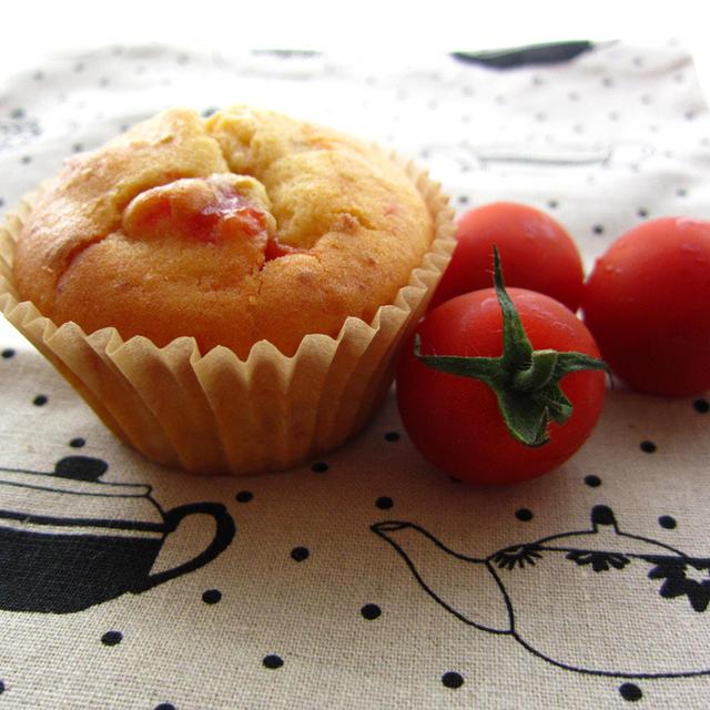 トマト風味のチーズケーキ