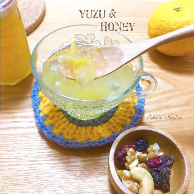爽やかな香りが最高♡ 初めての『 #柚子茶 』#ホットドリンク #柚子