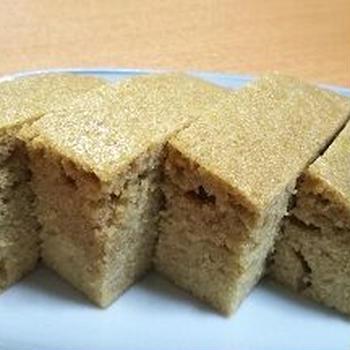 これも黒糖蒸しパン