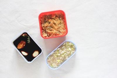 味噌・醤油・塩麹ベースの夏の薬味だれ3種♪ といただいたつくれぽのご紹介。