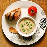 休日に食べたい!「マッシュルームスープ」でほっこり朝ごはん
