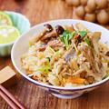 旬の食材ギュッ~っとつまった「秋刀魚ときのこの炊き込みごはん」 by apomomokoさん