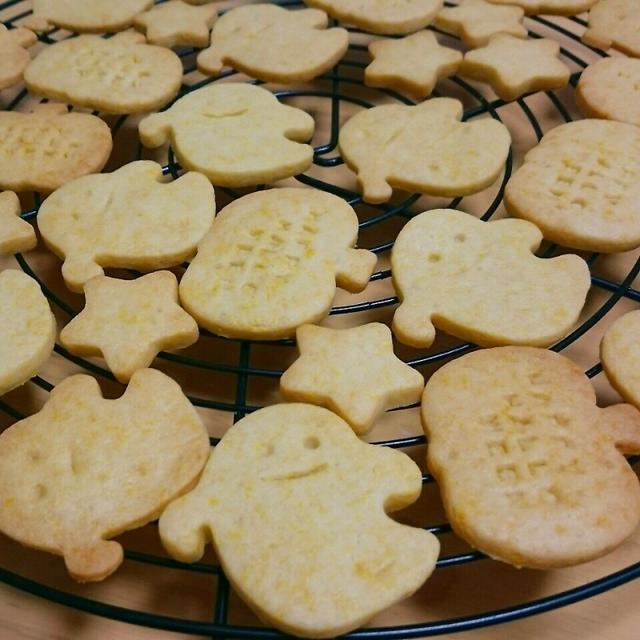 ハロウィンにカボチャのクッキー☆