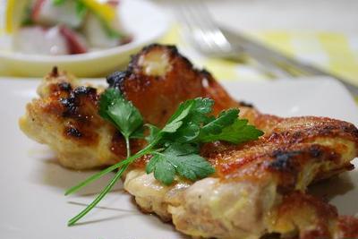 鶏もも肉の柚子こしょうマヨネーズグリル