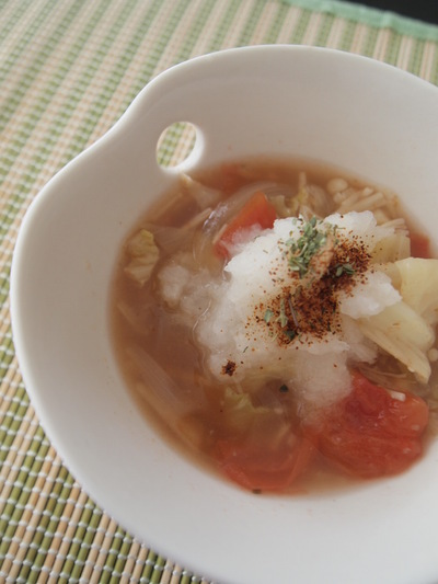 春から夏の脂肪燃焼スープ