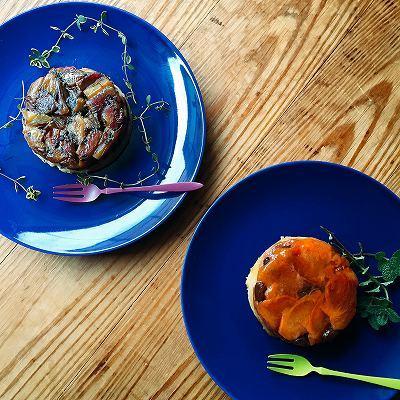 柿とさつまいものタルトタタン