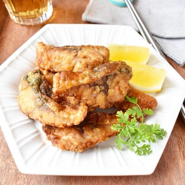 子供が食べてくれる魚料理。カリカリ♪【さばのカレーしょうゆ竜田揚げ】