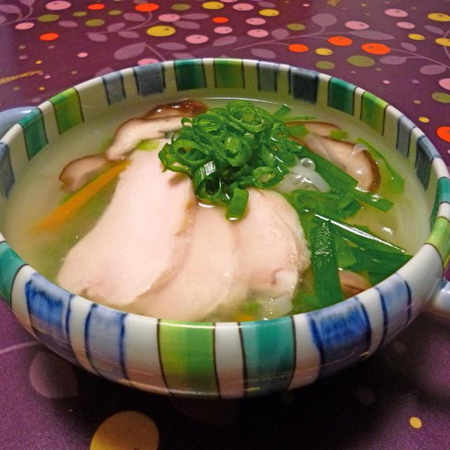 レモングラス チキンのスープ