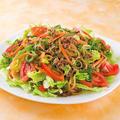 人気の韓国料理を韓の食菜と野菜で超簡単&カラフルに♪