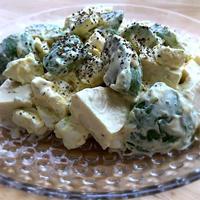 アボカドクリチ豆腐