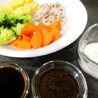 【レポ】出張個人レッスン/手づくりソースで楽しむ野菜