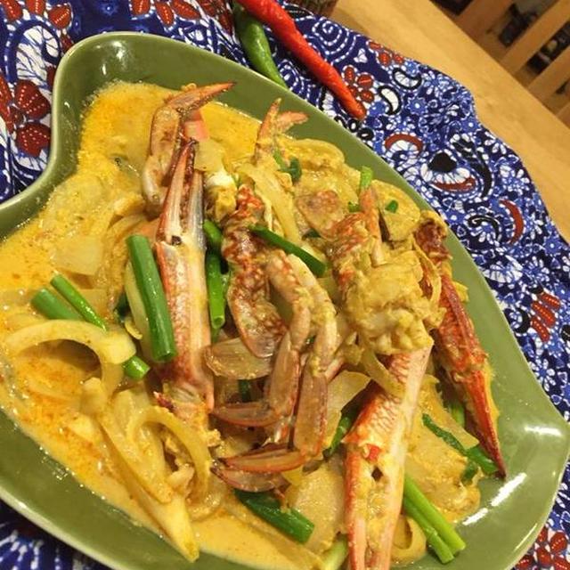 タイ風蟹カレー