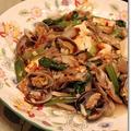 あさりと豆腐、小松菜のフライパンでピリ辛蒸し*つくれぽ♪