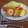 おうちで洋食屋さんメニュー サクうま!スコッチエッグと海老フライの作り方