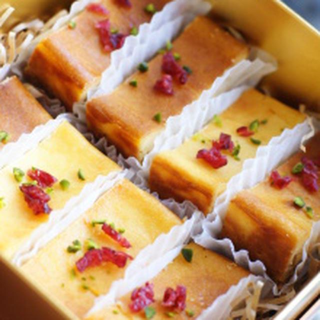 母の味!超簡単ベークドチーズケーキ♪レシピ付き