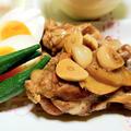 鶏手羽元と卵のさっぱり煮のレシピ