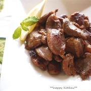 砂肝のピリっと柚子胡椒炒め(レモン風味)&ウレシピセット