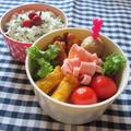 2.1 ディライト スタックインランチ ラウンドで、春色のお弁当スープ付。 by YUKAさん