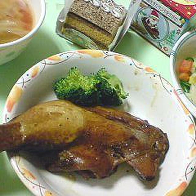 奥さんの病院食。お昼はパスタ2種